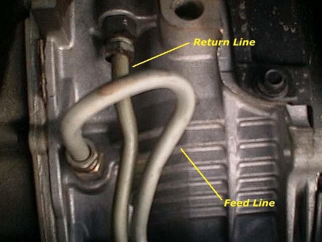 Transmission lines hook up