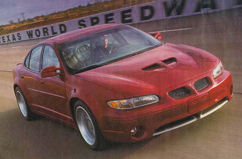 Pontiac grand prix concept